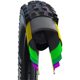 "SCHWALBE Dirty Dan Super Downhill Evolution Folding Tyre 27.5x2.35"" TLE Addix Ultra Soft, black"
